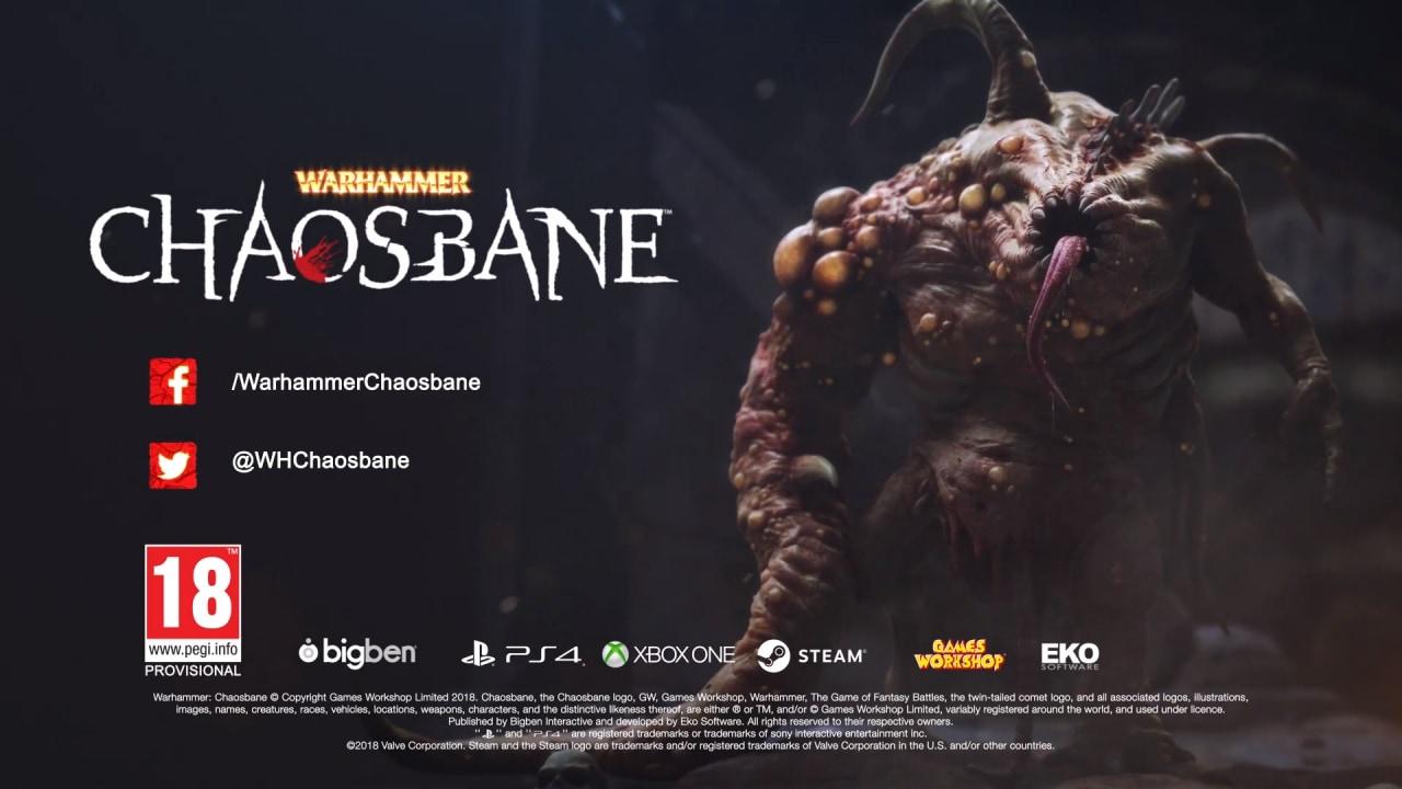 Warhammer: Chaosbane è il primo hack 'n' slash ambientato nell'universo fantasy di Warhammer