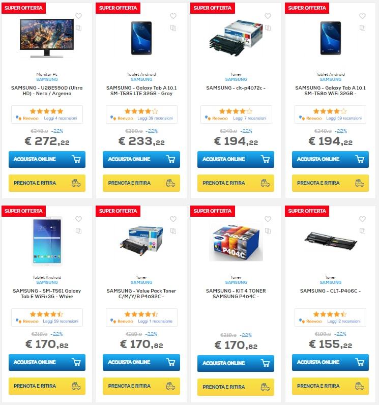 euronics samsung days settembre 2018 tablet pc (4)