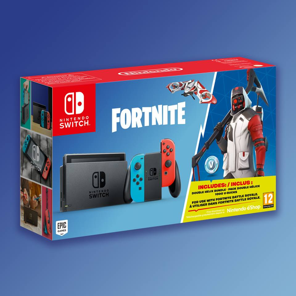 Aspettavate un bundle speciale con Fortnite per fare vostra Nintendo Switch? Eccovi accontentati