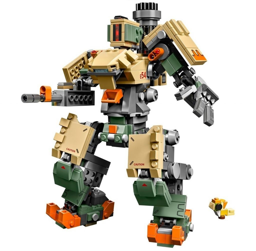LEGO Overwatch 75974 Bastion (3)