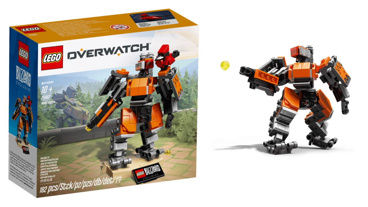 Il primo set LEGO Overwatch è realtà! Ecco LEGO Overwatch Omnic Bastion 7598