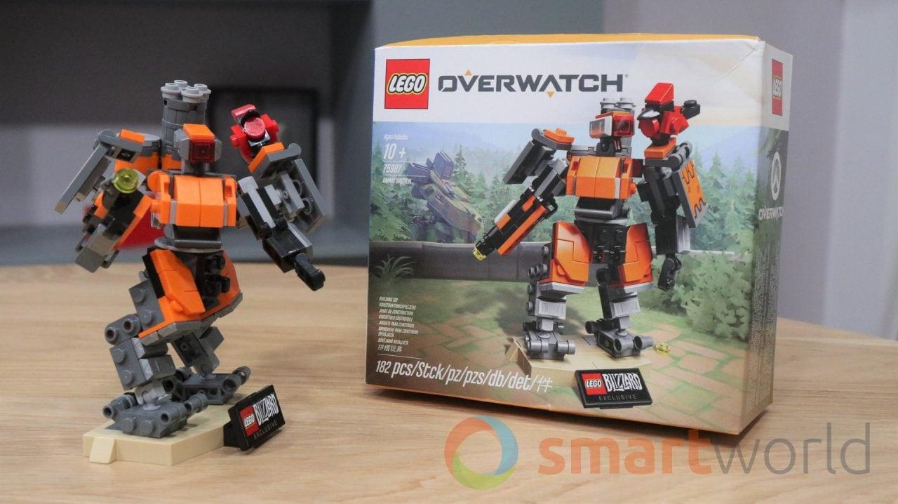 LEGO Overwatch Omnic Bastion, le nostre foto del primo set nato dalla collaborazione tra LEGO e Blizzard