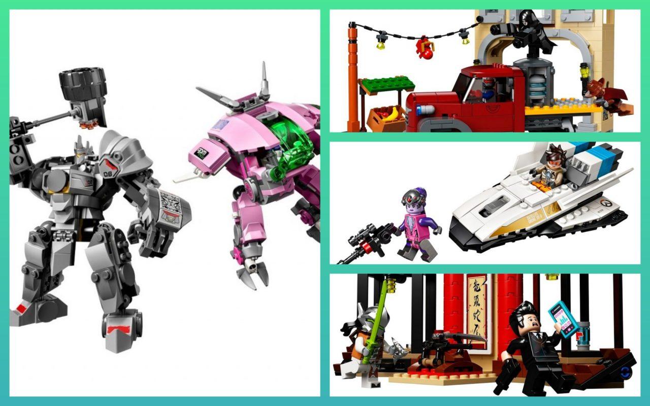 Svelati tutti i set LEGO Overwatch: ecco foto, numero di pezzi, prezzo di lancio e altri dettagli!