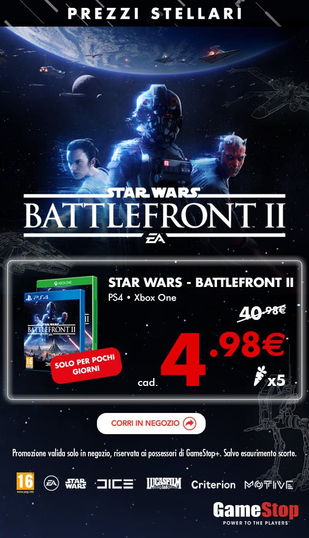 Offerta Gamestop