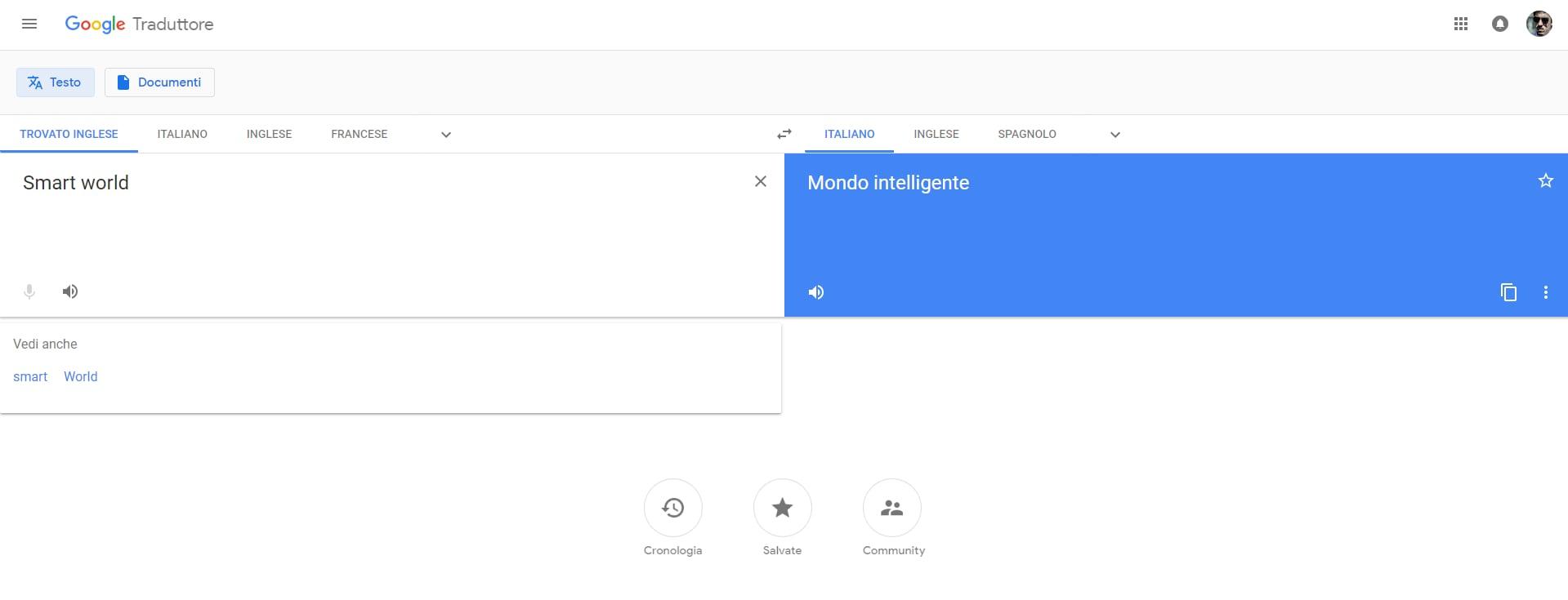 Google traduttore si rif il look sul web finalmente arriva il material design foto smartworld - Traduttore simultaneo italiano inglese portatile ...