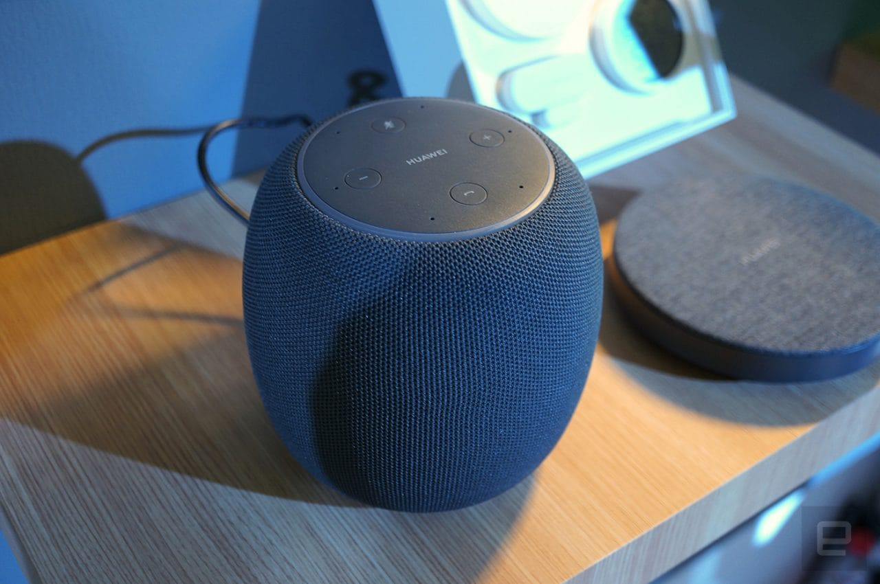Huawei presenta AI Speaker: un nuovo smart speaker compatto, non vi sembra di averlo già visto? (foto)