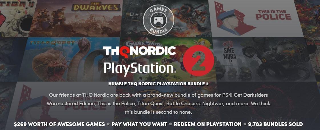 Ecco il primo Humble Bundle per PS4 europeo: tanti giochi, ottimo prezzo e si fa del bene