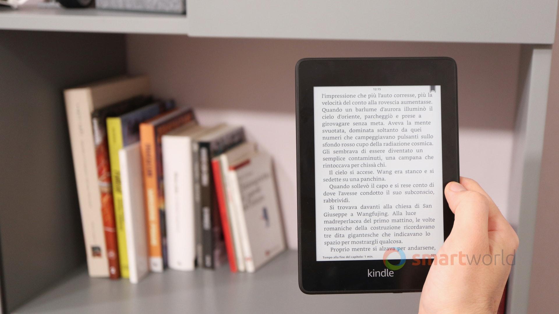 Recensione Kindle Paperwhite 2018: bello e impermeabile
