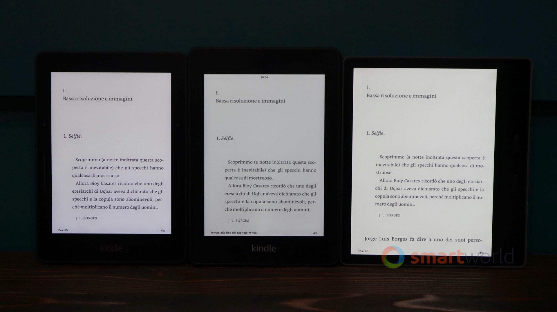 Recensione Kindle Paperwhite 2018: bello e impermeabile | SmartWorld