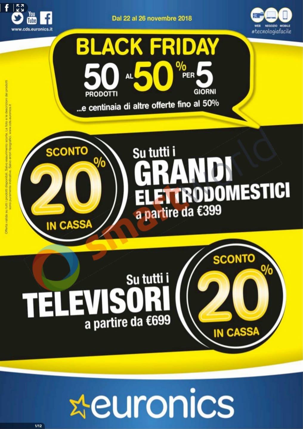 Volantino Euronics Black Friday 1