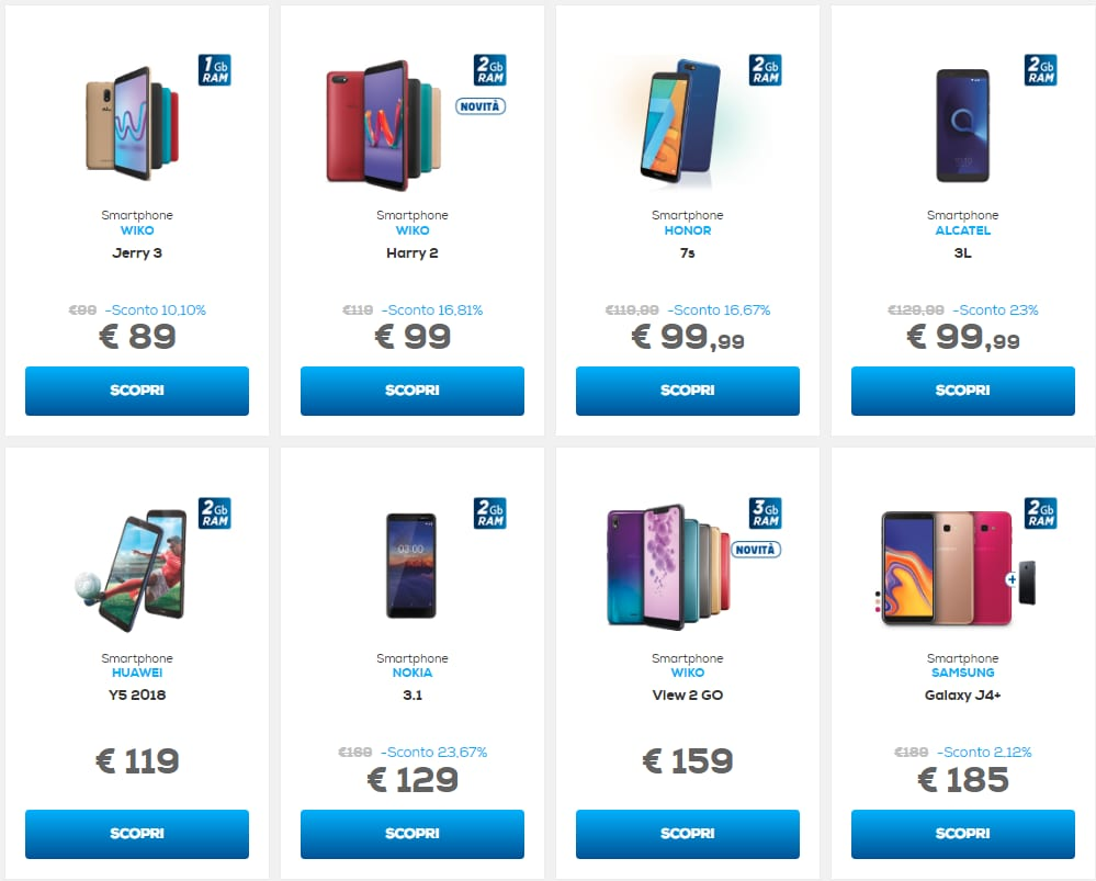 Volantino Euronics Speciale Telefonia novembre 2018 (1)