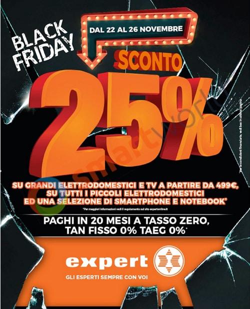 Volantino Expert Black Friday – 2