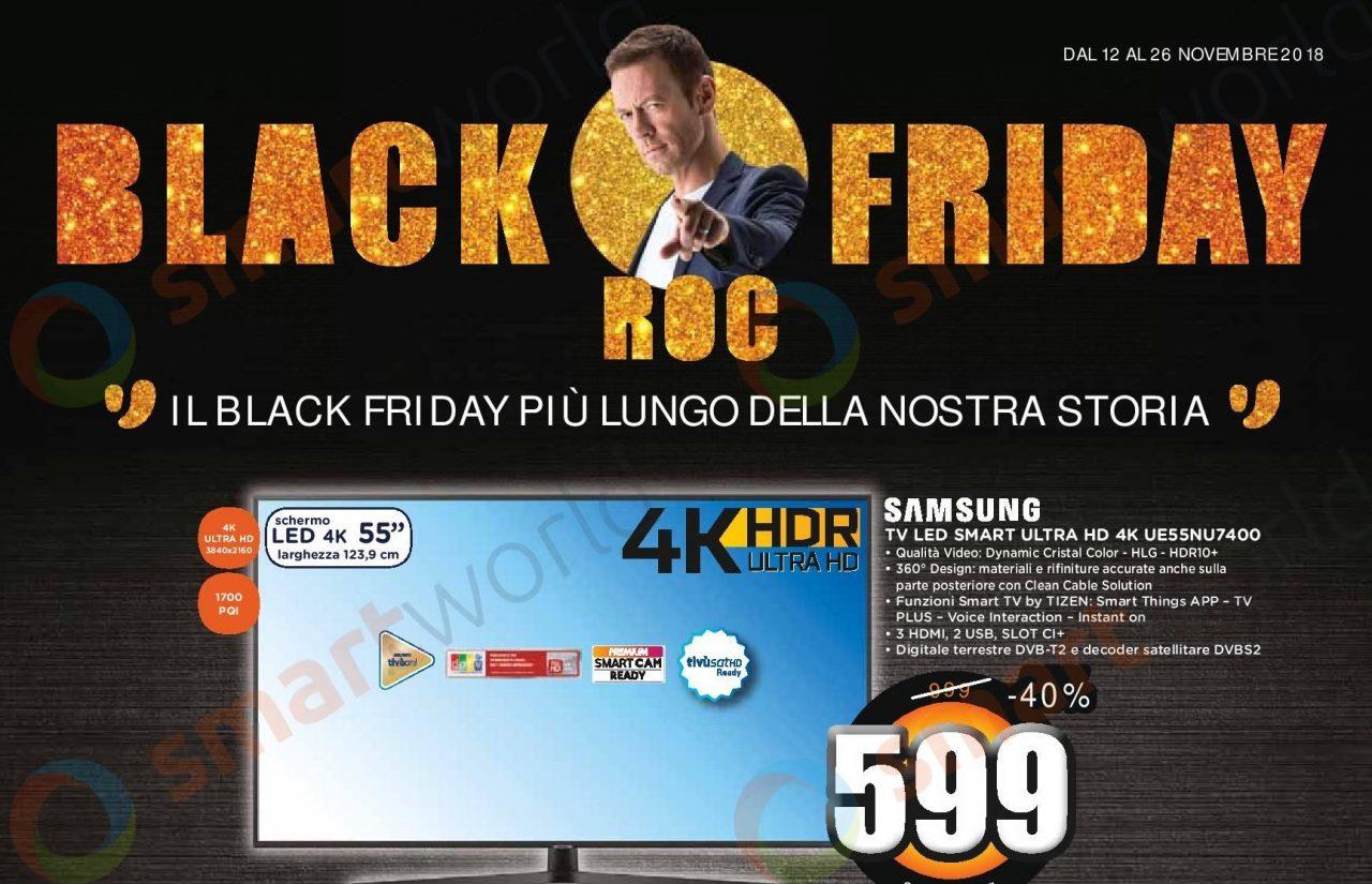 Volantino Unieuro Black Friday Roc 2018 12-26 novembre: offerte e... Rocco Siffredi (foto)