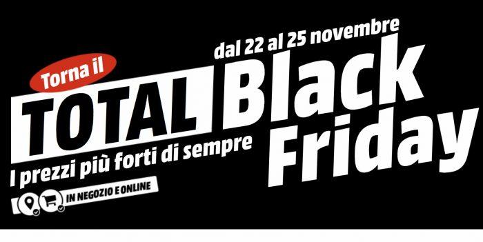 Il Total Black Friday MediaWorld 2018 inizierà con un giorno di anticipo 0bbd0813aa7c