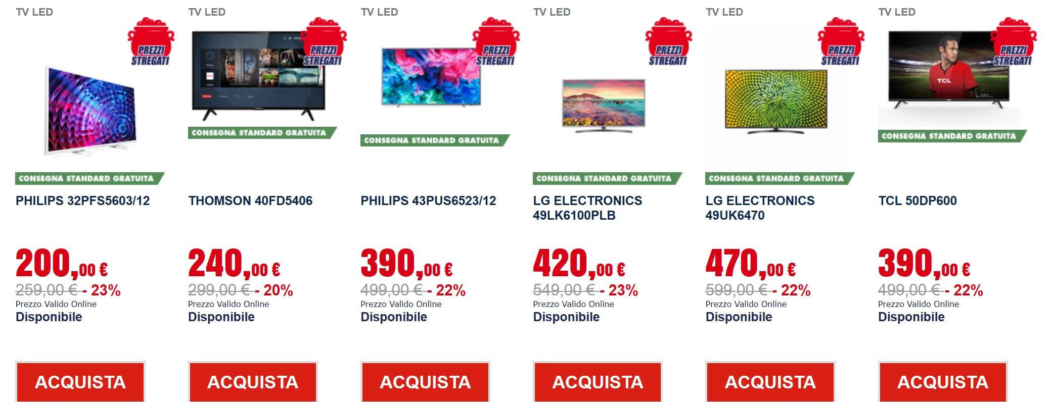 trony prezzi tappeto novembre 2018 tv (3)