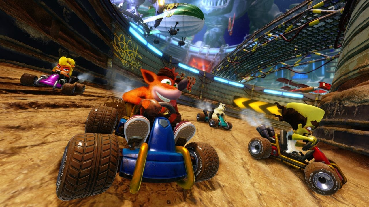 Provate gratis Crash Team Racing Nitro-Fueled su Nintendo Switch: ecco come fare