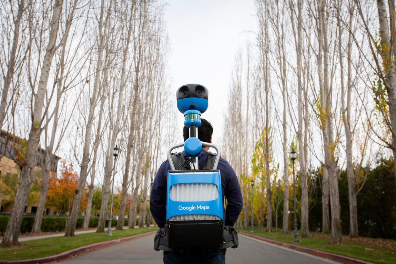 Google Maps aggiorna il suo Trekker per catturare più facilmente il mondo a 360° (foto)