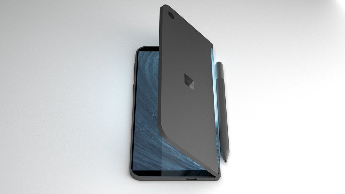 """Un Microsoft Surface da 9"""" pieghevole con supporto alle app Android: solo un sogno o qualcosa di più? (foto)"""