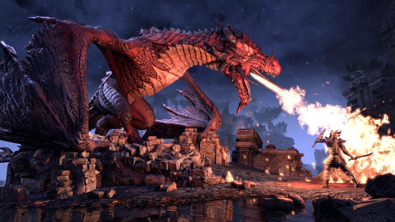 The Elder Scrolls Online: il 2019 porta l'espansione Elsweyr, i negromanti e draghi... tanti draghi! (video)