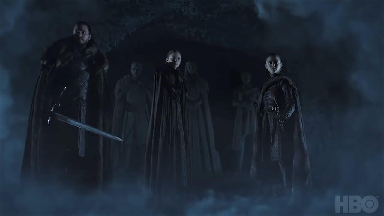 Game of Thrones - Stagione 8, finalmente abbiamo una data! Ecco il nuovo teaser con Jon, Arya e Sansa
