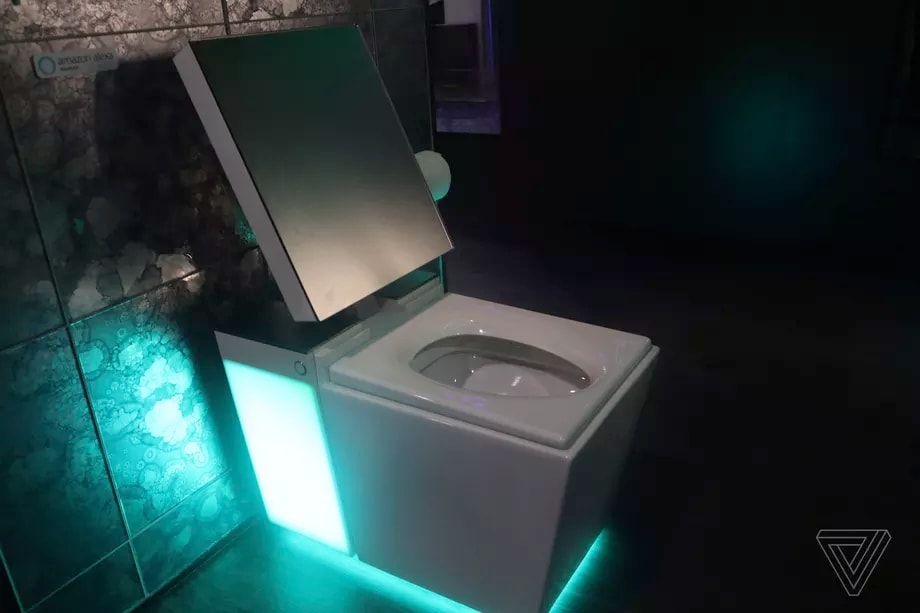 Kohler Vasca Da Bagno : Questo wc costa 7.000$ ma ehi si illumina e vi risponde anche