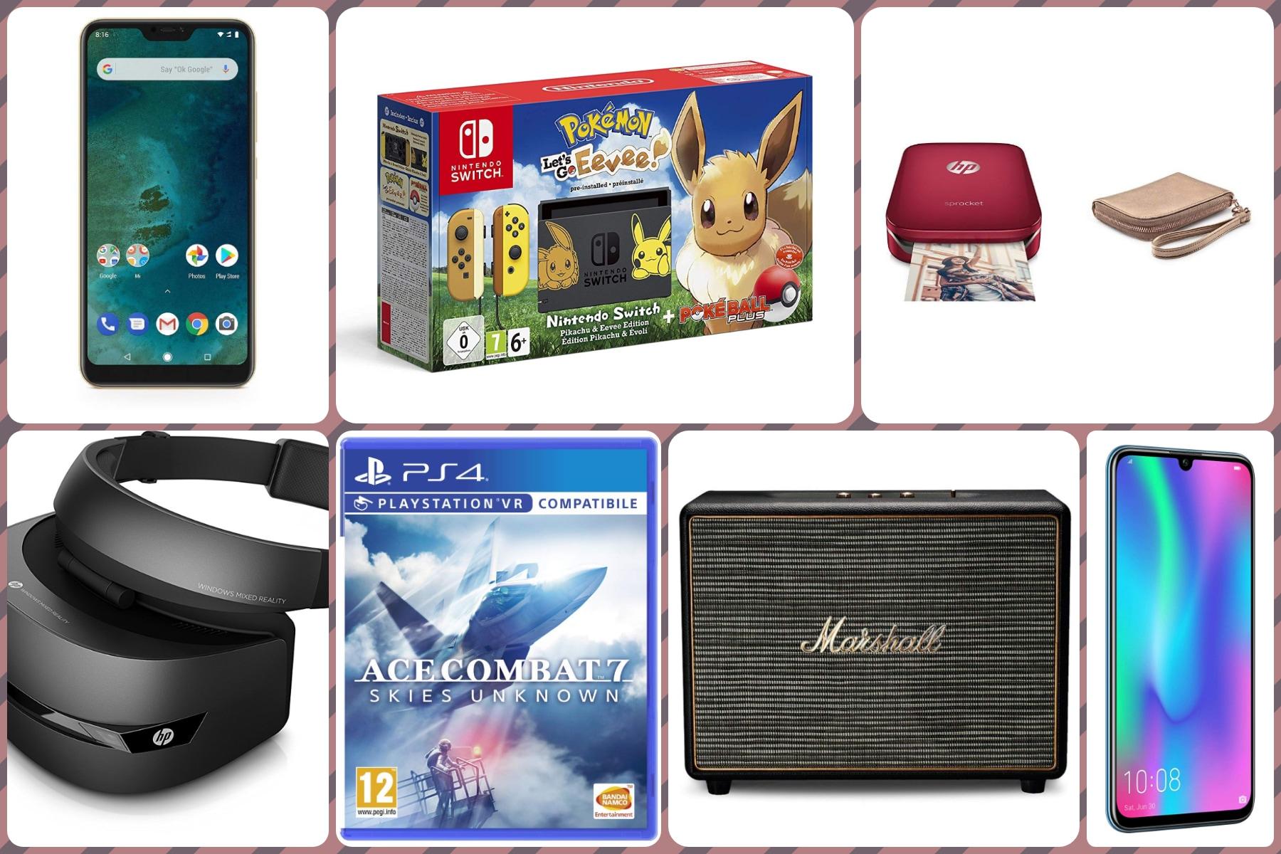 Offerte Amazon del giorno: smartphone Honor e Xiaomi, visore VR per PC, Ace Combat 7 e tanto altro - image Migliori-offerte-Amazon-22-gennaio-2019 on https://www.zxbyte.com