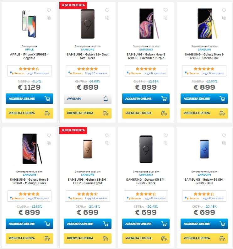 euronics sconti online 24 gennaio 2019 smartphone (19)