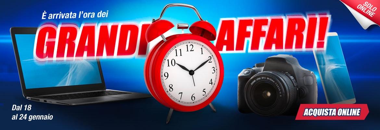 """Trony """"Grandi Affari"""" sconti solo online fino al 18 gennaio: smartphone, TV, notebook e fotocamere (foto)"""
