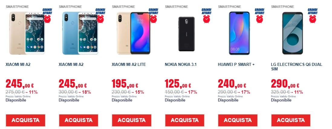 grandi affari trony online 18 gennaio 2019 smartphone (2)