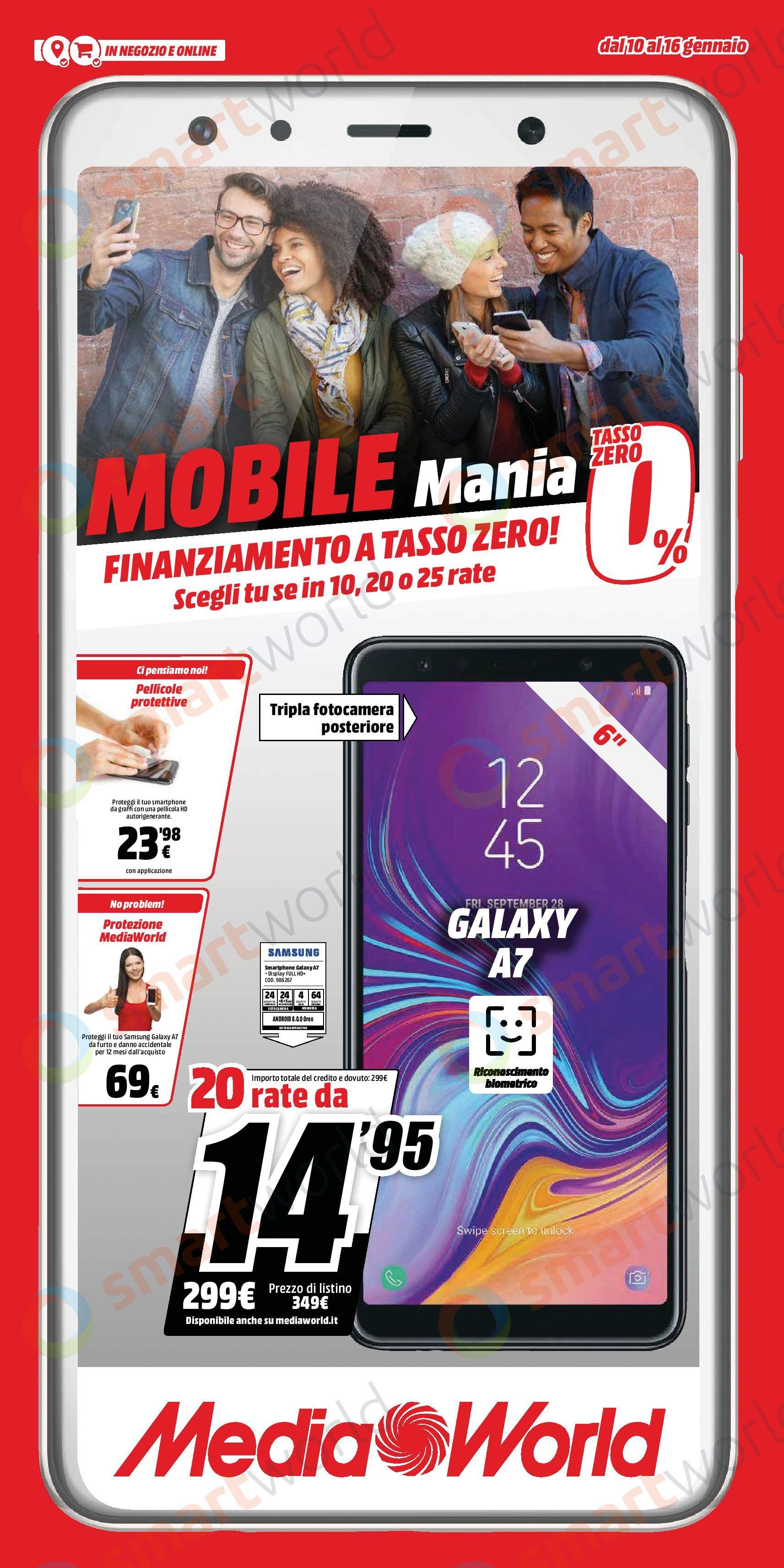 volantino mediaworld mobile mania gennaio 2019 (1)