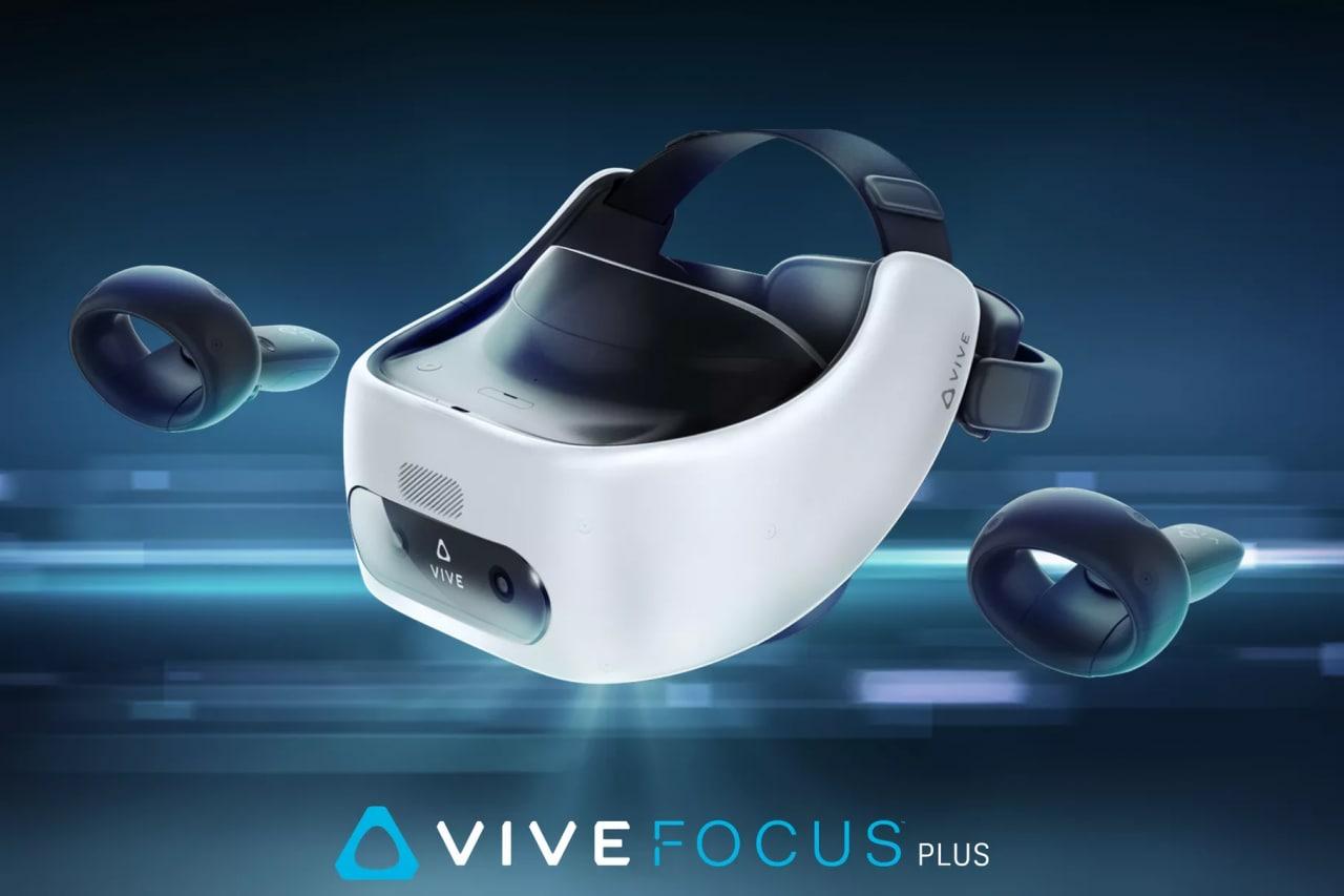 HTC annuncia Vive Focus Plus, una versione aggiornata del visore stand alone con nuovi motion controller
