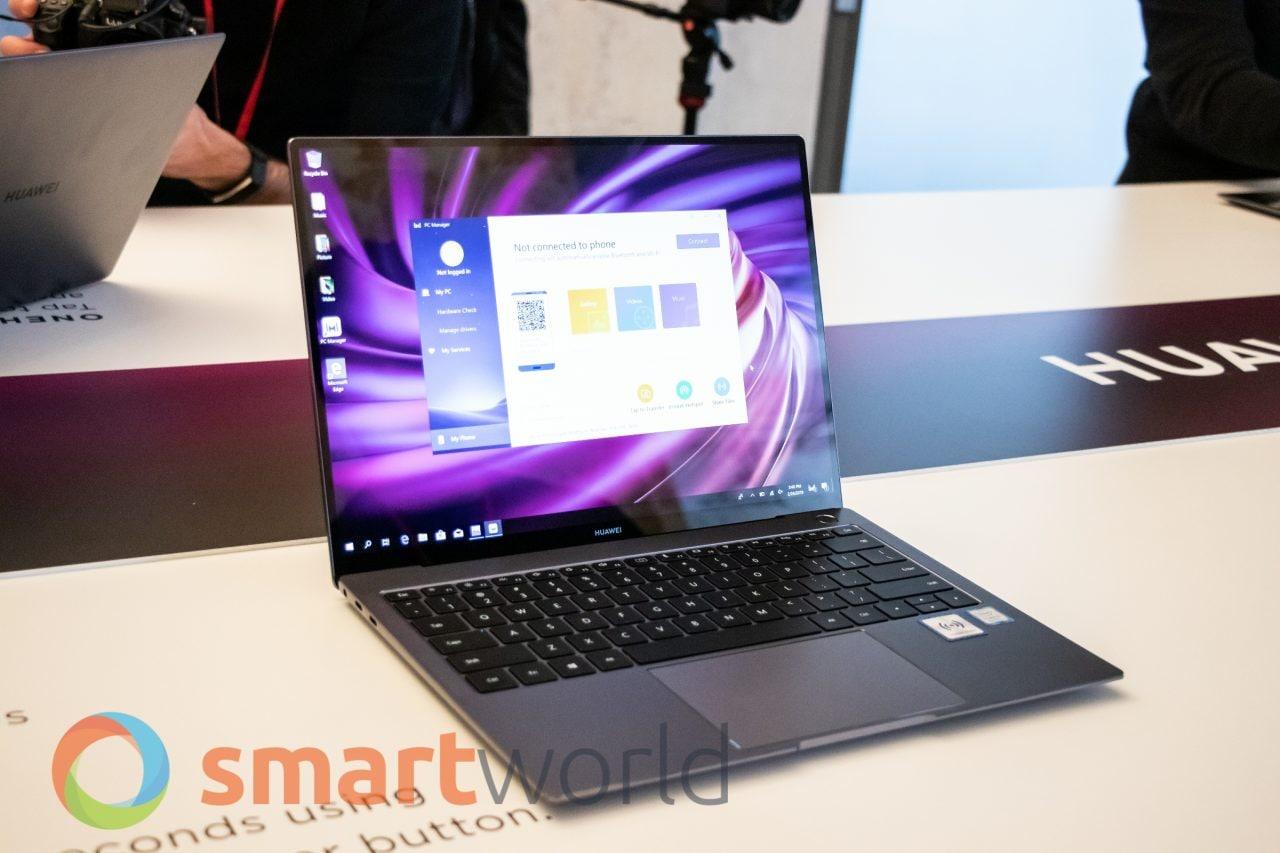 Huawei MateBook X Pro e MateBook 14 ufficiali: potenti, leggeri e supportano OneHop (foto e video)