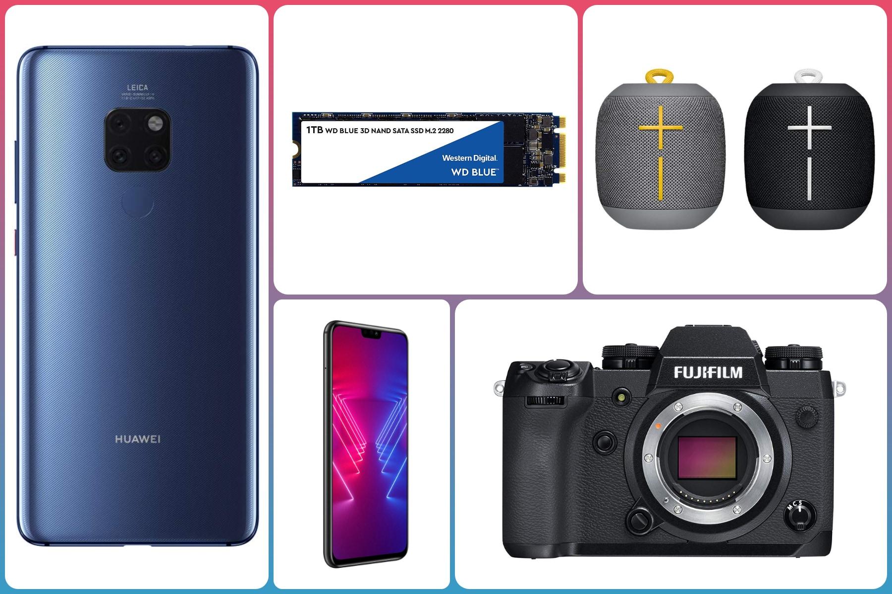 Offerte Amazon da non perdere: Huawei Mate 20, due speaker UE a 89€, Fujifilm X-H1 a 1.180€, SSD e molto altro - image Migliori-offerte-Amazon-11-febbraio-2019 on https://www.zxbyte.com