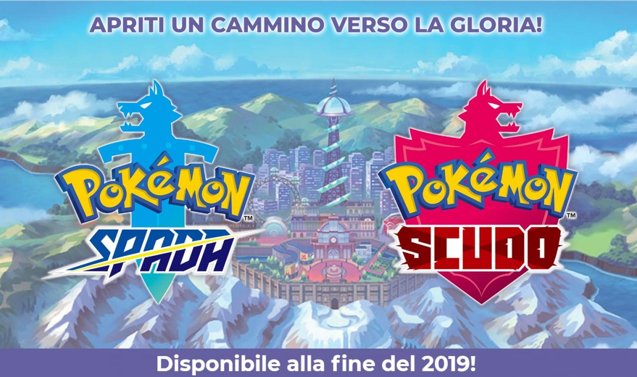 Pokémon Spada e Scudo ufficiali: gli RPG 3D Pokémon per Nintendo Switch che avete sempre voluto!