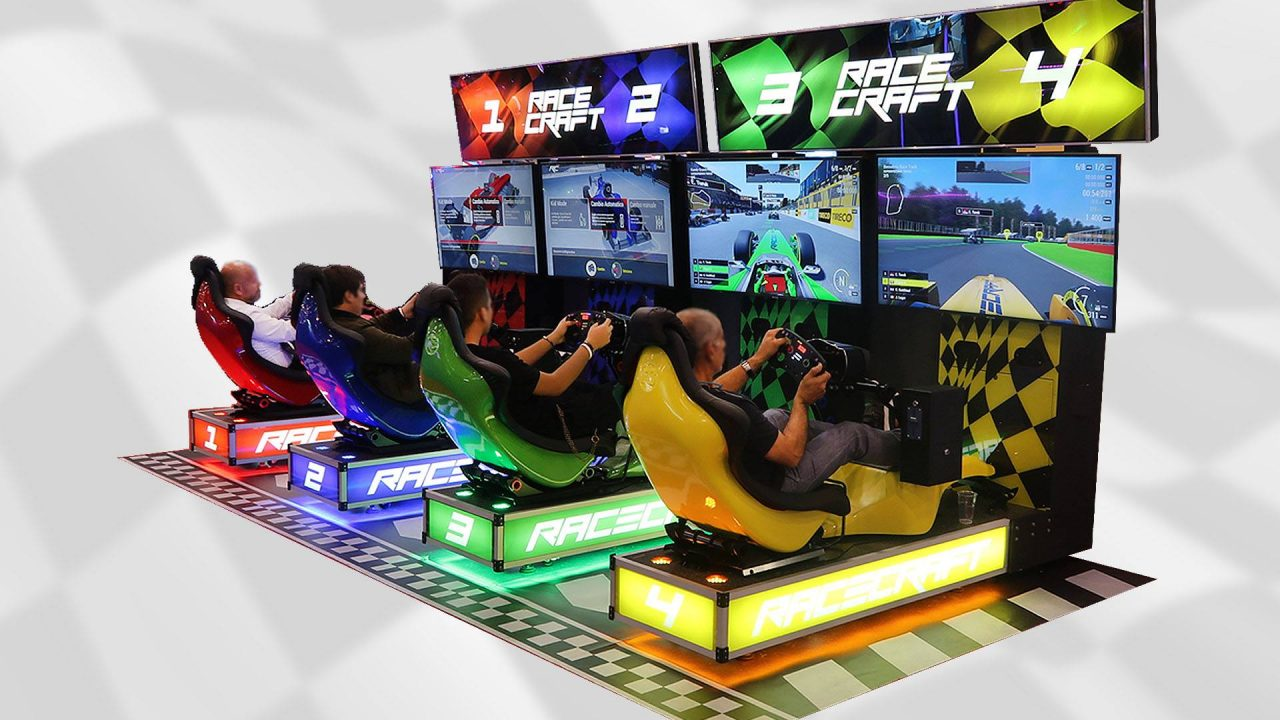 Gli eSport si spostano in sala giochi grazie alla Racecraft Arcade Cup 2019