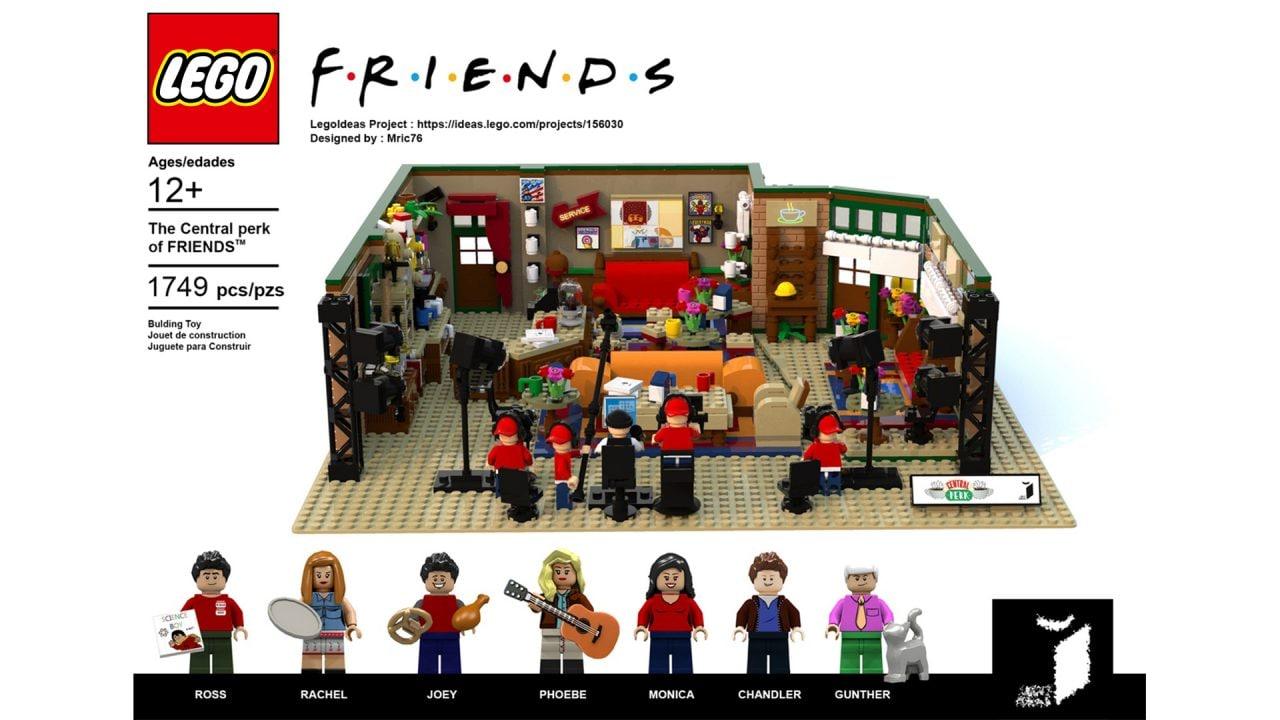 Il Central Perk di Friends diventa un set LEGO Ideas, arriverà in vendita quest'anno!