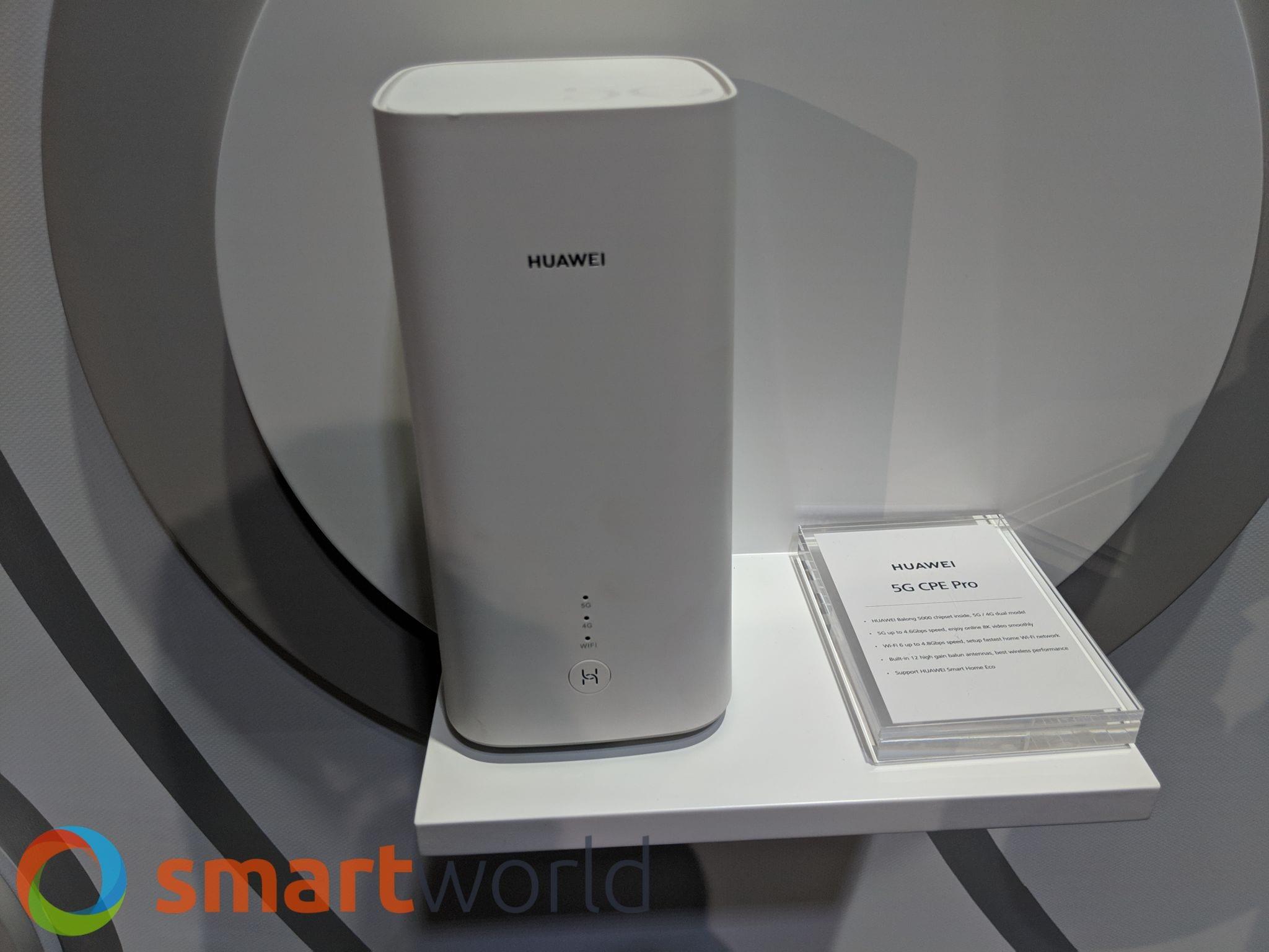 Modem-router 5G Huawei al MWC 2019 | SmartWorld