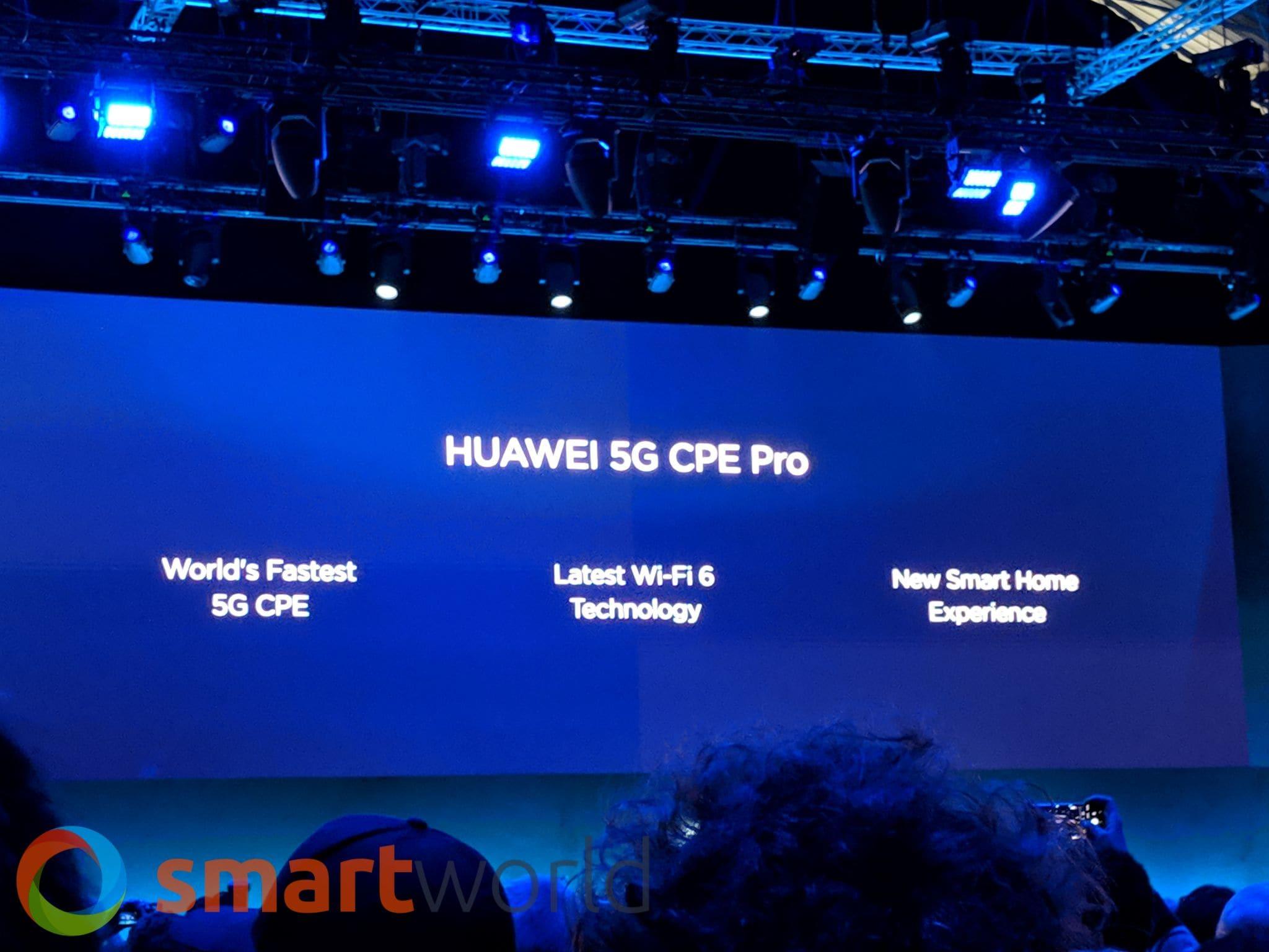 Modem-router 5G Huawei al MWC 2019   SmartWorld