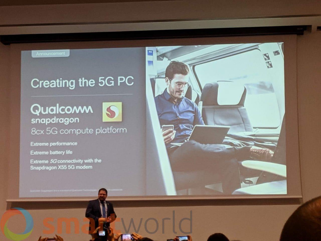 Il 5G sarà la svolta anche per i PC Windows sempre connessi? Ecco la nuova piattaforma di Qualcomm (foto)