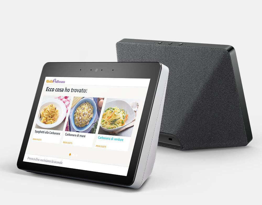 """Amazon Echo Show arriva in Italia! Alexa con display da 10"""" sembra davvero versatile (foto)"""