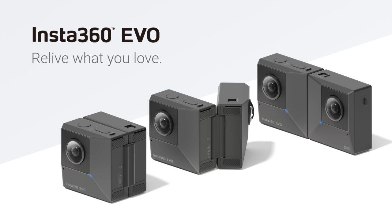 Insta360 EVO: cam 5.7K 3D o a 360°? Si piega e fa entrambe! (foto)