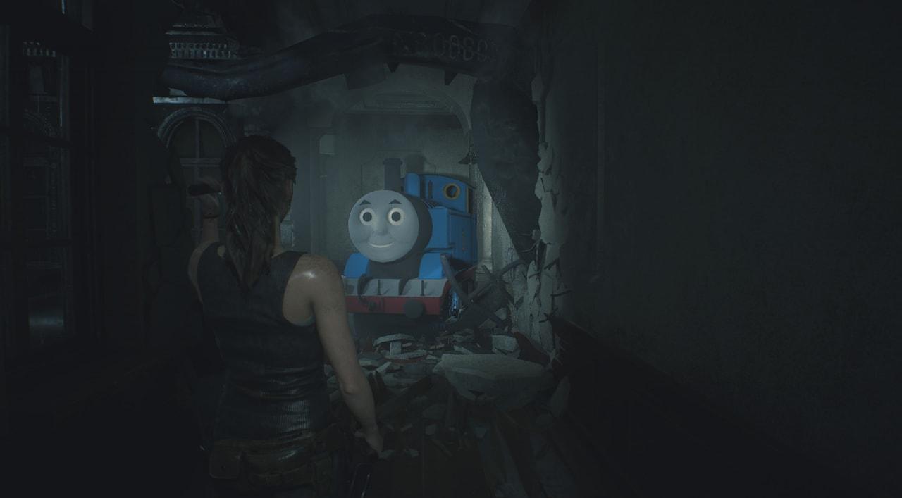 Una mod di Resident Evil 2 sostituisce Mr. X con il ben più temibile Trenino Thomas