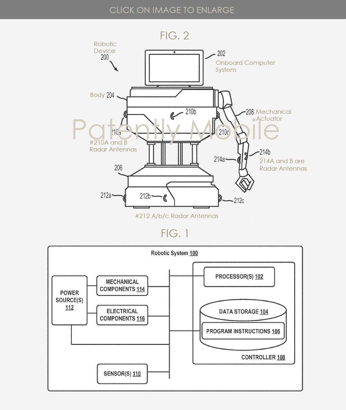 brevetto google assistant robot (1)