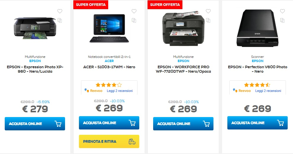 euronics sconti online 27 marzo 2019 – notebook (1)