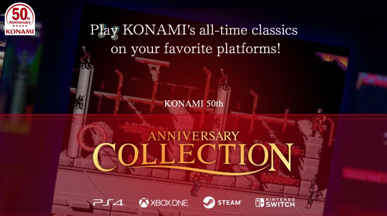 Konami festeggia il suo 50° compleanno rispolverando le sue glorie: Contra, Castlevania e molto altro!