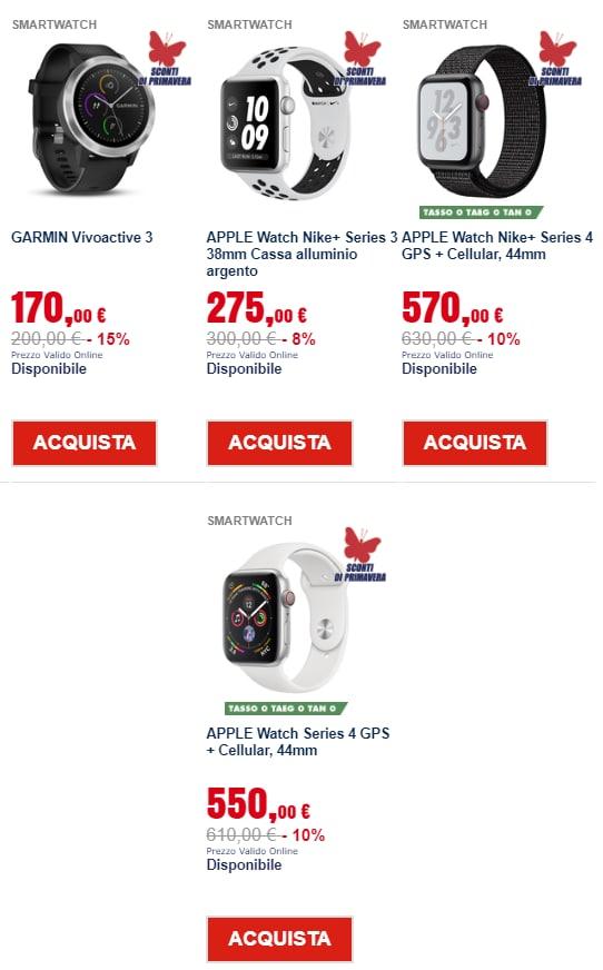 trony prezzi leggeri marzo 2019 smartwatch (1)