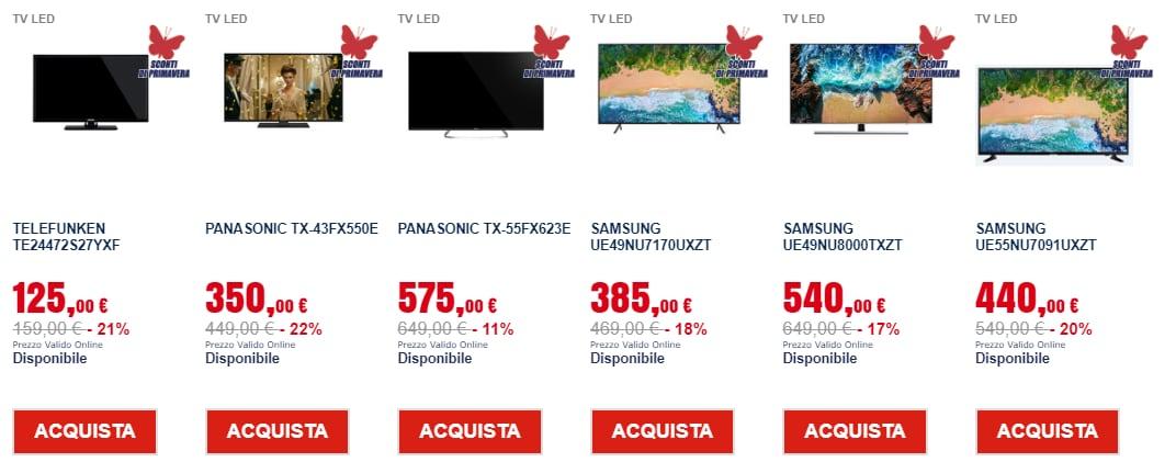 trony prezzi leggeri marzo 2019 tv (1)