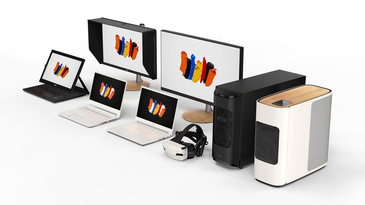 Acer presenta ConceptD, un'intera famiglia di potentissimi prodotti dedicati ai creativi