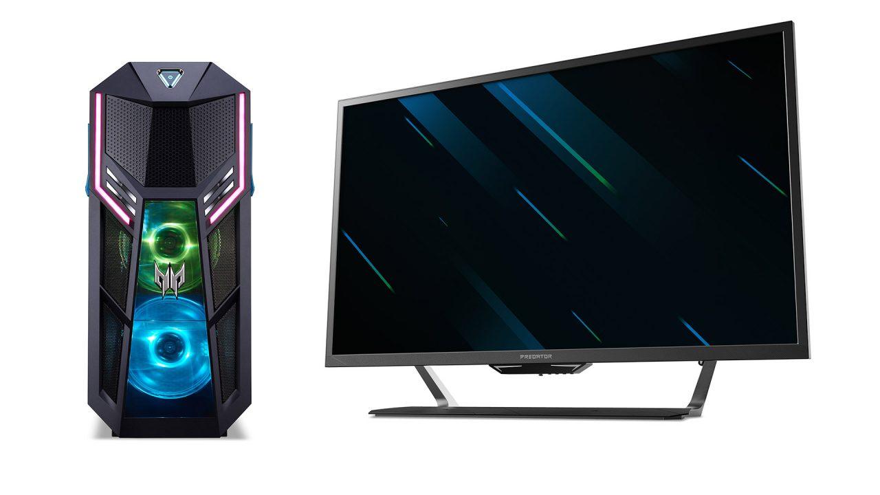 """Acer Predator Orion 5000 2019 ufficiale: la super gaming station accompagnata da monitor 43"""" 4K a 144 Hz"""
