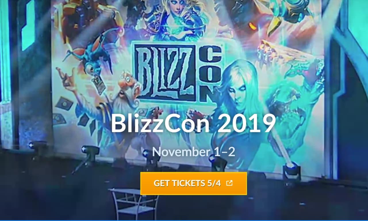 Blizzard ha già fissato le date per il BlizzCon 2019